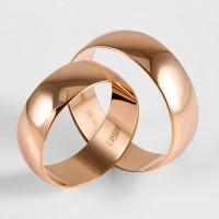 Золотое кольцо обручальное ДИ110217