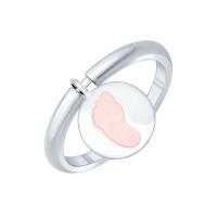 Серебряное кольцо с эмалью ДИ94011777