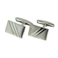 Серебряные запонки 8С140003