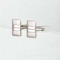 Серебряные запонки 8С140001