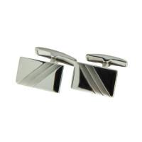 Серебряные запонки 8С140004