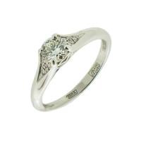 Золотое кольцо с бриллиантами МБ1-105-41