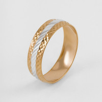 Золотое кольцо обручальное 1ФКО-006-А
