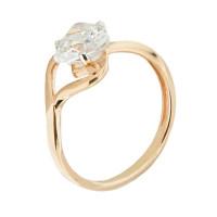 Золотое кольцо с фианитами 5Э10-02-00042