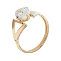 Золотое кольцо с фианитами 5Э10-02-00102