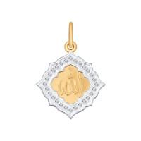 Золотая мечеть с фианитами ДИ034839