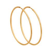 Золотые серьги конго ДИ140067