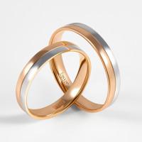 Золотое кольцо обручальное ДИ110158