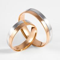 Золотое кольцо обручальное ДИ110116