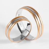 Золотое кольцо обручальное ДИ110204