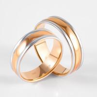 Золотое кольцо обручальное ДИ110164