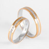 Золотое кольцо обручальное ДИ110213