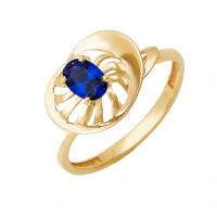Золотое кольцо с сапфиром ДПБР210101