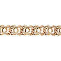 Золотая цепочка 1ФЦ306 плетение Гарибальди