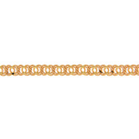Золотая цепочка 1ФЦ305 плетение Гарибальди