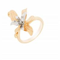 Золотое кольцо с бриллиантами МЭК73138