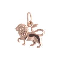 Золотой знак зодиака «лев» ТЗТ10003288