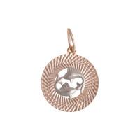Золотой знак зодиака «рыбы» ТЗТ130631870