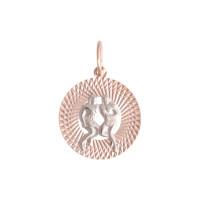 Золотой знак зодиака «близнецы» ТЗТ130631880