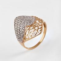 Золотое кольцо с фианитами 2БКЗ5К.1-01-0284-01