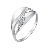 Золотое кольцо с фианитами ЮИК230-2513
