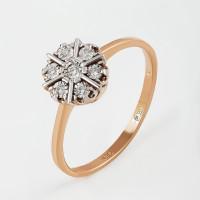 Золотое кольцо с бриллиантами КРК3213269/9