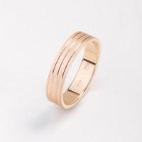 Золотое кольцо обручальное ЗВ1160370311