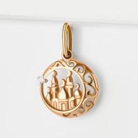Золотая мечеть с фианитами