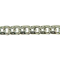 Серебряная цепочка КБЦ120 мужская