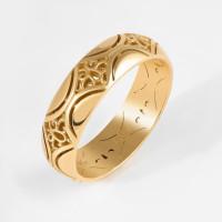 Золотое кольцо обручальное КАКО-ОКБ230ГМ35