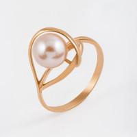 Золотое кольцо с жемчугом ФЖ31371.1