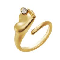Золотое кольцо с бриллиантом ИА10780