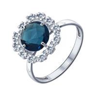 Серебряное кольцо ДИ94011530
