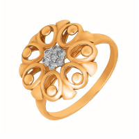 Золотое кольцо с бриллиантами АО12285-100