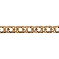 Золотая цепочка ХС1121050 двойной ромб