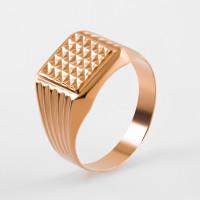 Золотая печатка 2И04-0114