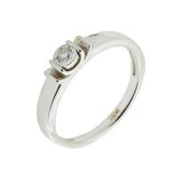 Золотое кольцо с бриллиантом КРК7213579/9