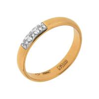 Золотое кольцо обручальное с бриллиантами АО1314-700