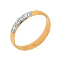 Золотое кольцо обручальное с бриллиантами АО1315-700
