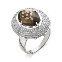 Серебряное кольцо с топазами НЮ90201010755
