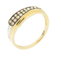 Золотое кольцо с бриллиантами ЮЕР27582
