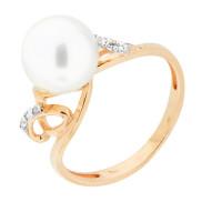 Золотое кольцо с жемчугом ФЖ31052.1
