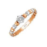Золотое кольцо с бриллиантом ЛФР01-Д-33983
