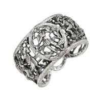 Серебряное кольцо ИАС13060Б