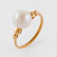 Золотое кольцо с жемчугом 2БКЗ5К-10.01-0515-01