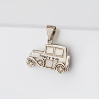 Серебряная подвеска с эмалью СЫ03ЦХВ011113