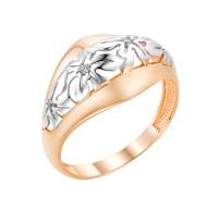 Золотое кольцо с фианитами ЮЫ2002000126363