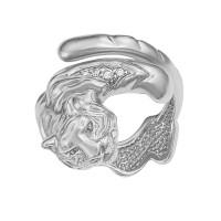 Серебряное кольцо с фианитами ИАС11550
