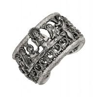 Серебряное кольцо ИАС12590Б