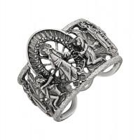 Серебряное кольцо ИАС12670Б